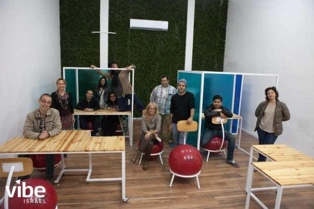 Photo of ADHD classroom in Israsel.