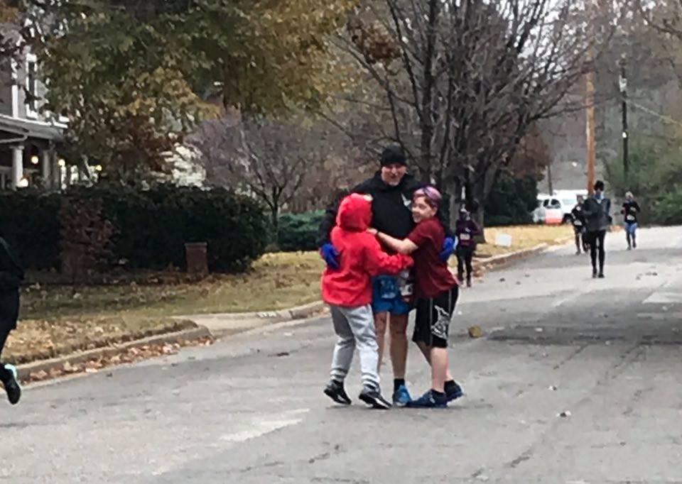 boys hugs route 66