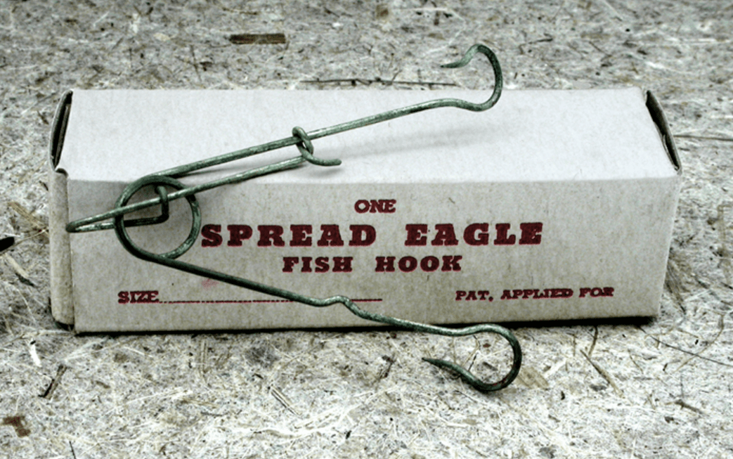 17b. Spread Eagle Fish Hook