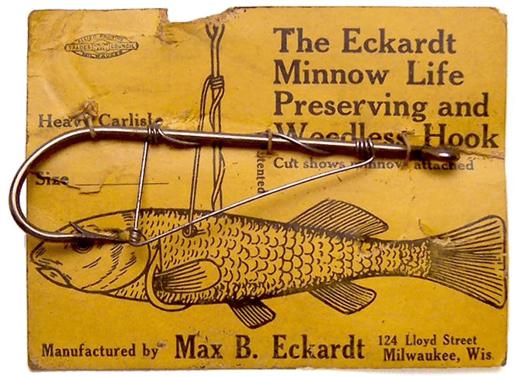 19a. The Eckardt Minnow Life Preserving and Weedless Hook, Thom Nefos