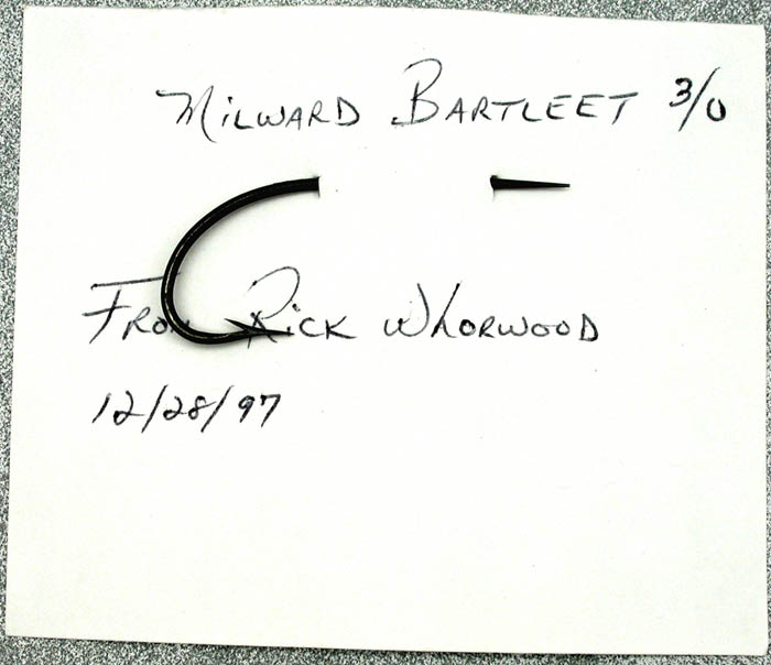 Milward Bartleet, 3.0, japanned, Reinhold collection, Royce Stearns