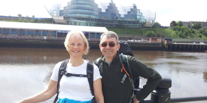 Hadrian's Wall Day 1 – Sunny Newcastle