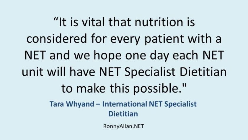 It is vital that nutrition is considered