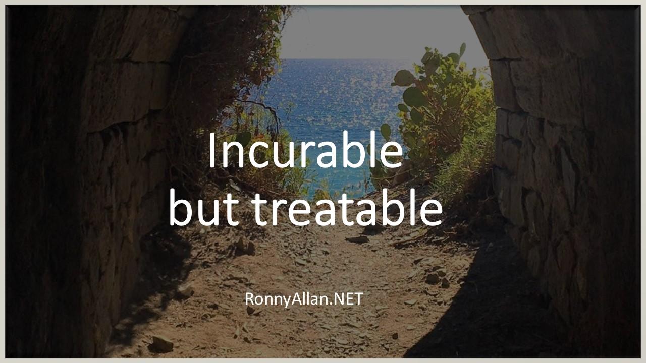 Neuroendocrine Cancer Incurable But Treatable Ronny Allan Living With Neuroendocrine Cancer