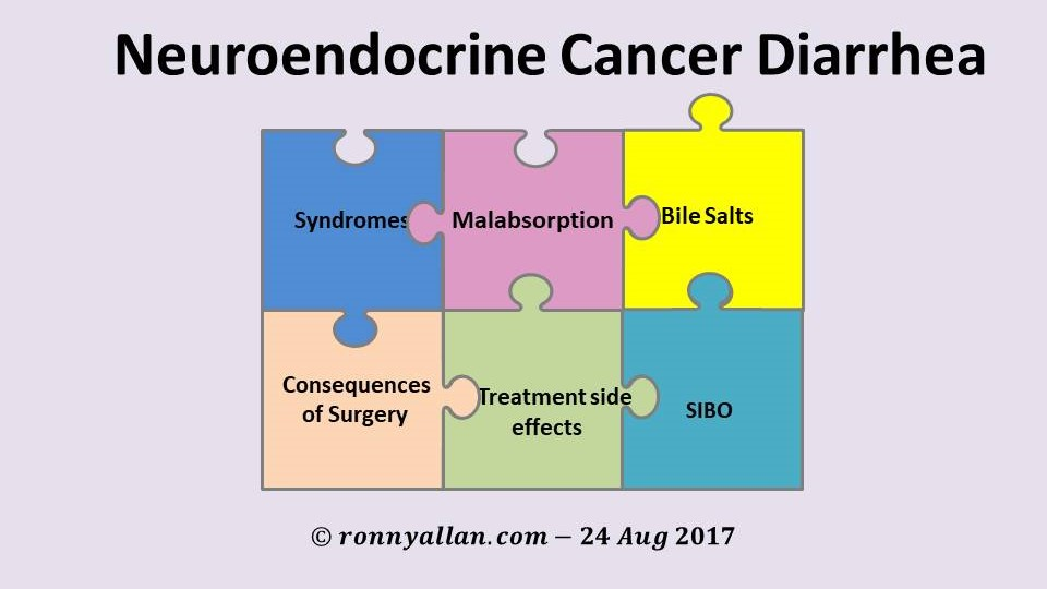 Neuroendocrine Cancer - the diarrhea jigsaw