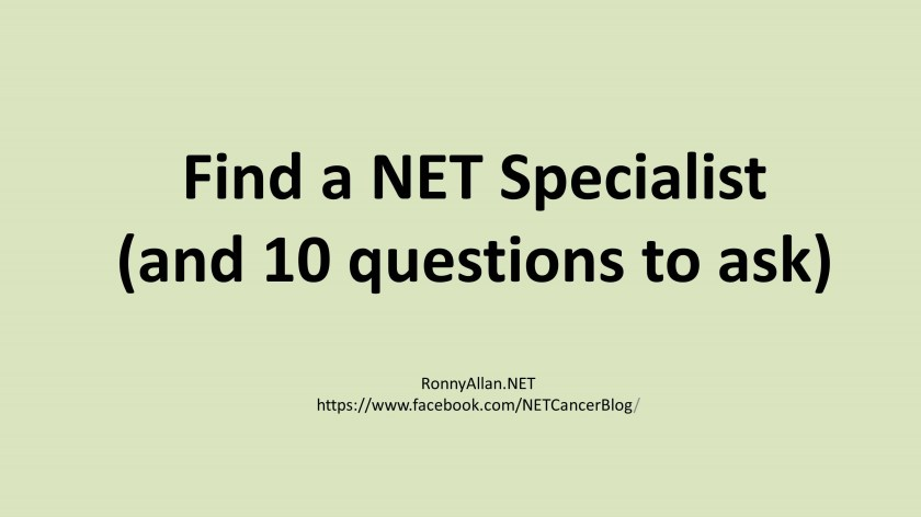 Find a specialist 10 questions