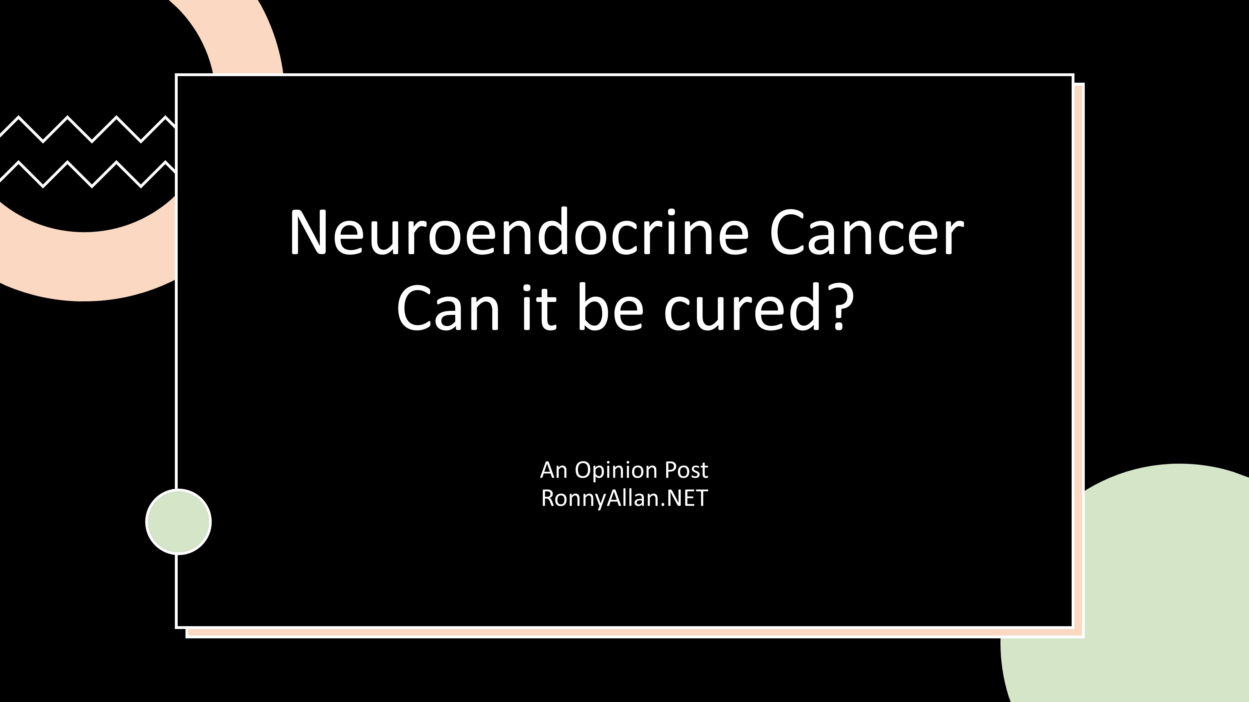 Neuroendocrine cancer can be cured, Cancer pancreatic cure. Cancerul pancreatic