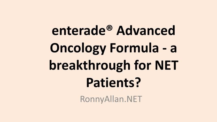 enterade® Advanced Oncology Formula - a breakthrough