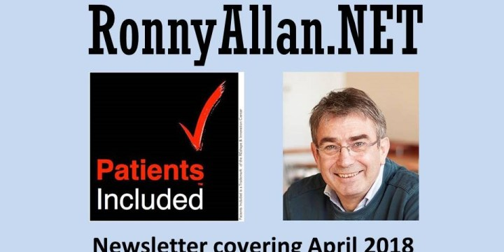 RonnyAllan.NET – Community Newsletter April 2018