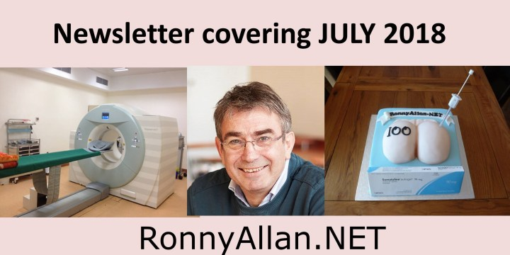 RonnyAllan.NET – Community Newsletter JULY 2018