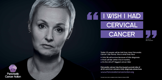 I wish I had cervical cancer