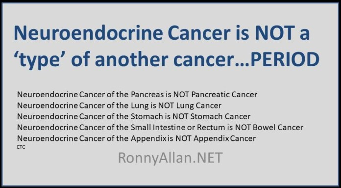 A Neuroendocrine Tumour is NOT