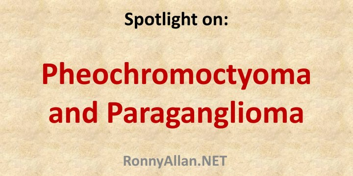 Neuroendocrine Tumours: a spotlight on Pheochromocytomas and Paragangliomas