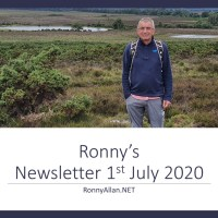 RonnyAllan.NET - Newsletter 1st July 2020