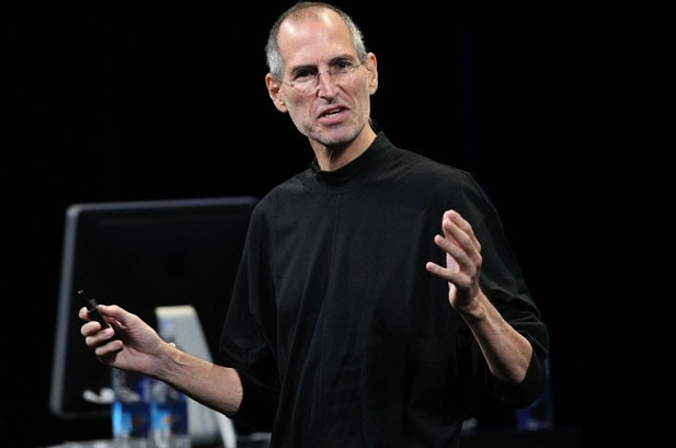 """I'm vertical"" – Steve Jobs announces to Apple staff after a liver transplant"