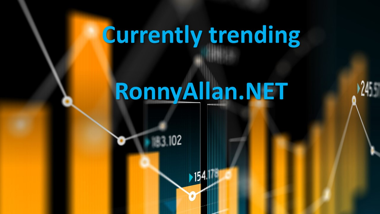 Currently trending on RonnyAllan.NET