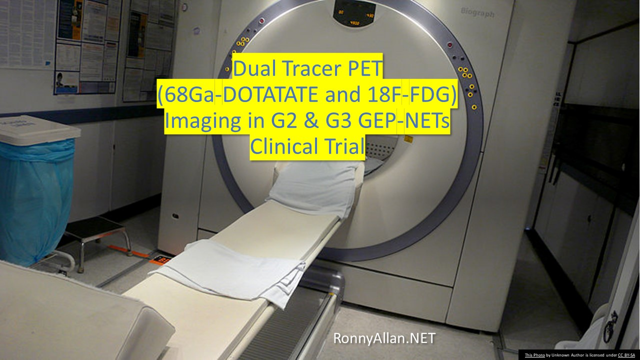 Dual Tracer (68Ga-DOTATATE and 18F-FDG) PET Imaging in G2 & G3 Gastroenteropancreatic Neuroendocrine Tumours
