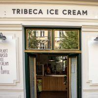 "#1 Sugarfree vegan organic ice cream shop in Berlin ""Tribeca"""