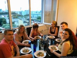Dinnerparty in Berlin 2014