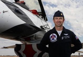 J.R. Williams, USAF Thunderbird