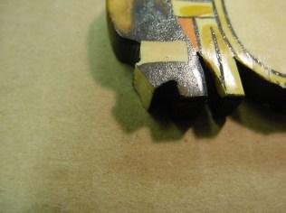 Figurines with broken pieces