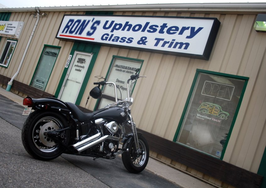About Us   Rons Auto Upholstery Ron s Auto Upholstery and Trim Ltd  is locally owned and operated  We have  been serving the Fredericton area since 1978