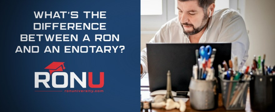 What's the Difference Between a Remote Online Notary and an Electronic Notary?