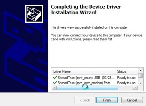 Spreadtrum driver installation