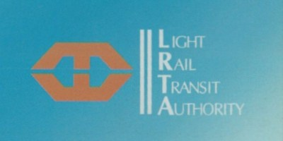 LRTA Logo on blue background