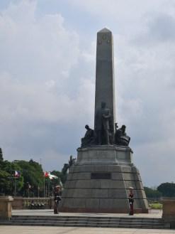 The Rizal Monument in Manila.