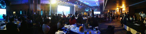 Audience shot inside the PICC venue
