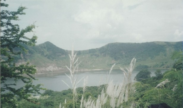 Main crater of Taal Volcano