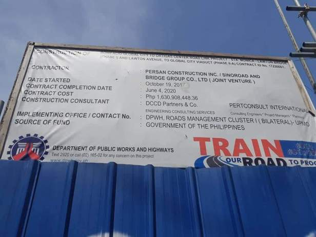 BGC Ortigas Center Bridge Project Billboard
