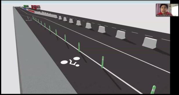 bike lane design for EDSA