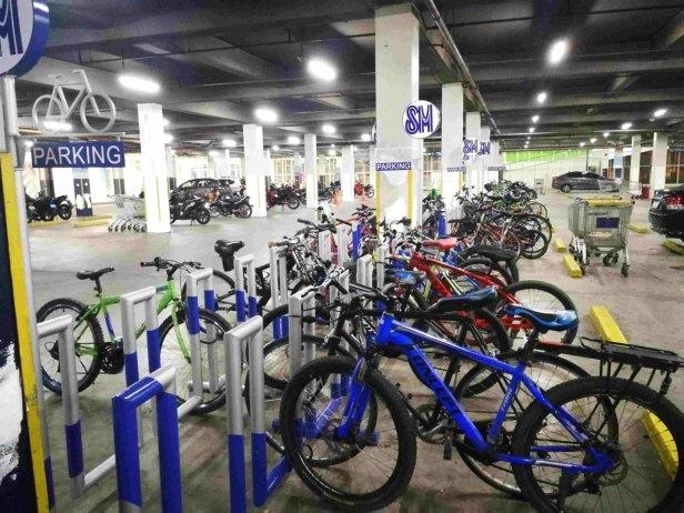 SM Center Pasig Bike Rack