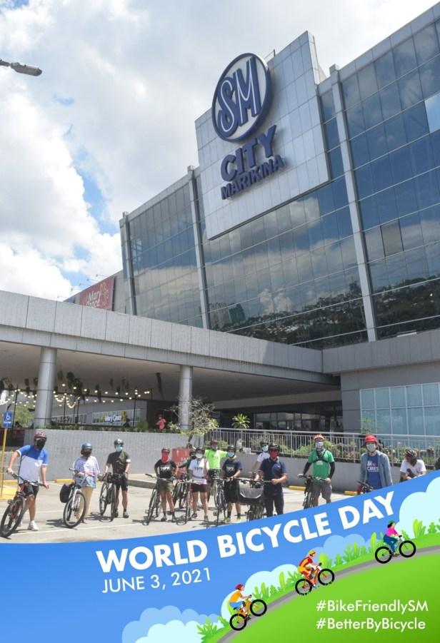 End of the ride at SM City Marikina
