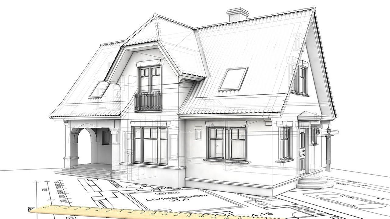Проекты мансардных крыш: чертежи схемы стропильной системы