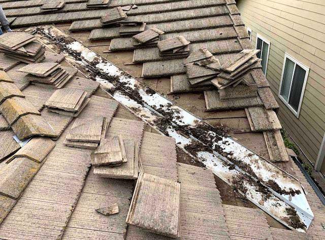 roofing leak repair roofing