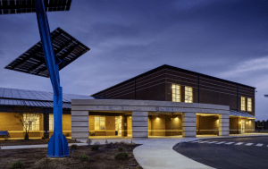 Sandy Grove Middle School in Hoke County, N.C.