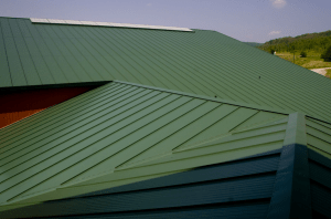 Metl-Span CFR insulated metal standing seam roof panels
