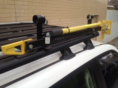 high lift jack and shovel holder pr