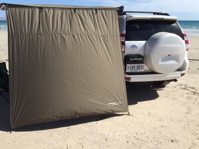 awning side wall shade 2 0 x 2 0m rhino rack 32112