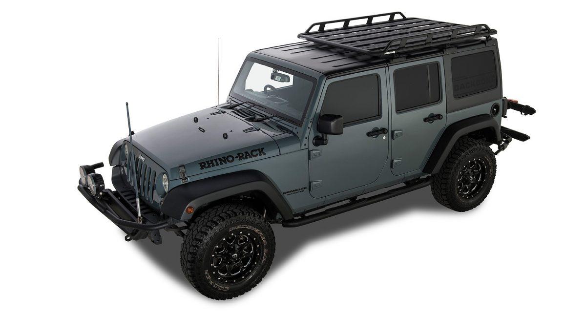 jeep wrangler jk 4dr hard top 02 11 03 19 rhino rack pioneer tradie with backbone 1828mm x 1426mm