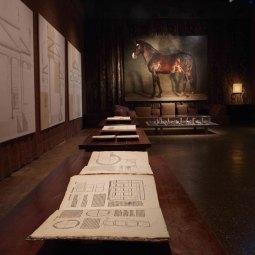 Andrea Palladio, Luciano Fabro, Michael Borremans, Piano Nobile Palazzo Fortuny © Jean-Pierre Gabriel