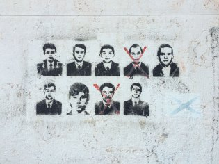artwork by the Anonymous Stateless Immigrants (A.S.I.)