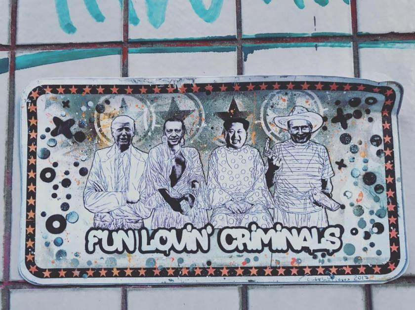 Fun lovin Criminals  Street art Cologne  Street arthellip