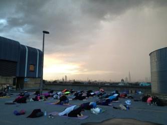 Stormy Voga Session