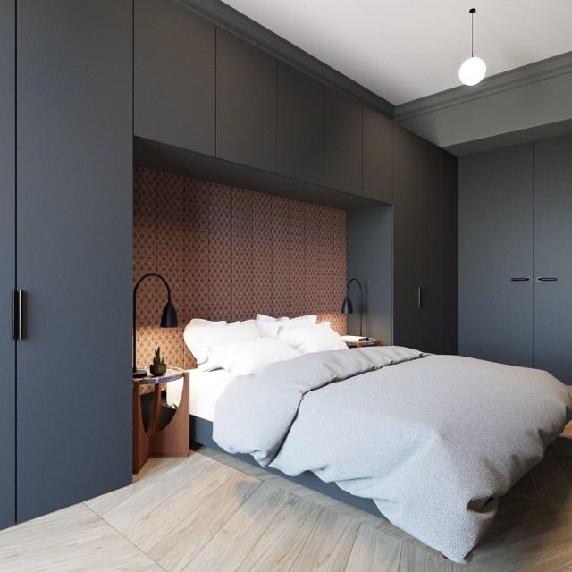 600 Square Feet Apartment Design With Wonderful Maximalist ...