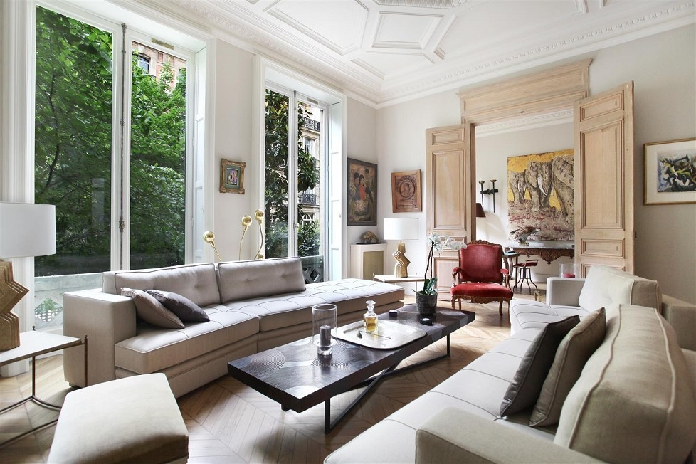 Beautiful French Living Room Style Design Ideas