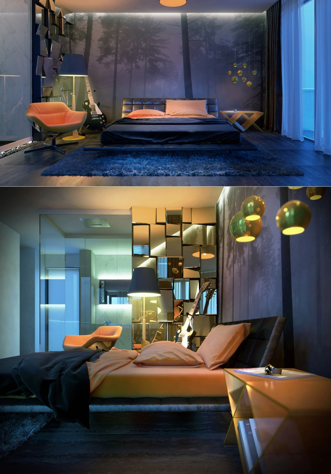 Luxury Bedroom Designs Which Arrange With Contemporary ...